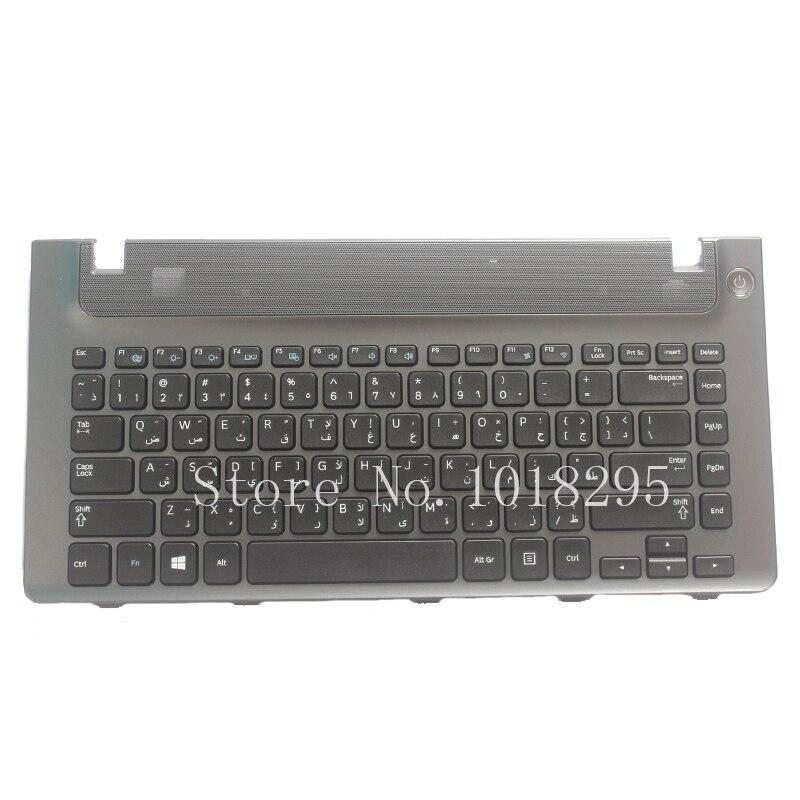New Arabic for samsung NP355V4C NP355V4X NP3445VX NP355V4X NP350V4C NP3445VC NP3440ec AR keyboard layout