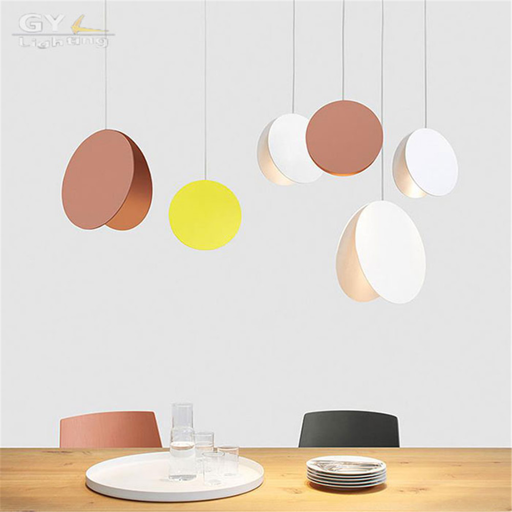 Nordic white yellow coffee pendant light restaurant bar cafe pendant lamp post-modern dining room meeting room hanging lights original axial flow fan 220v d3kb1755bbh3waw 17055 large wind cooling fan