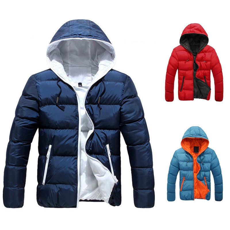 2018 New Styles Jackets Men Outwear Long Coat  Thick Warm Men Jackets  Clothing for Winter and Autumn