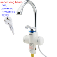 3sec Instant Instant Electric Heater Water Heater Faucet Kitchen Instant Hot Water Shower Hod and Cold Dual Use Tankless