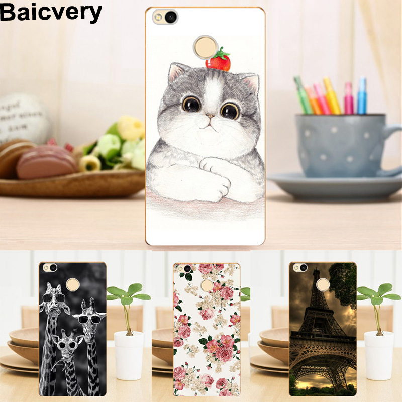Soft Silicon Back Cover Case for ZTE Nubia Z11 5.5 TPU Floral Tower Pattern Cases for ZTE Nubia Z11 Top Quality