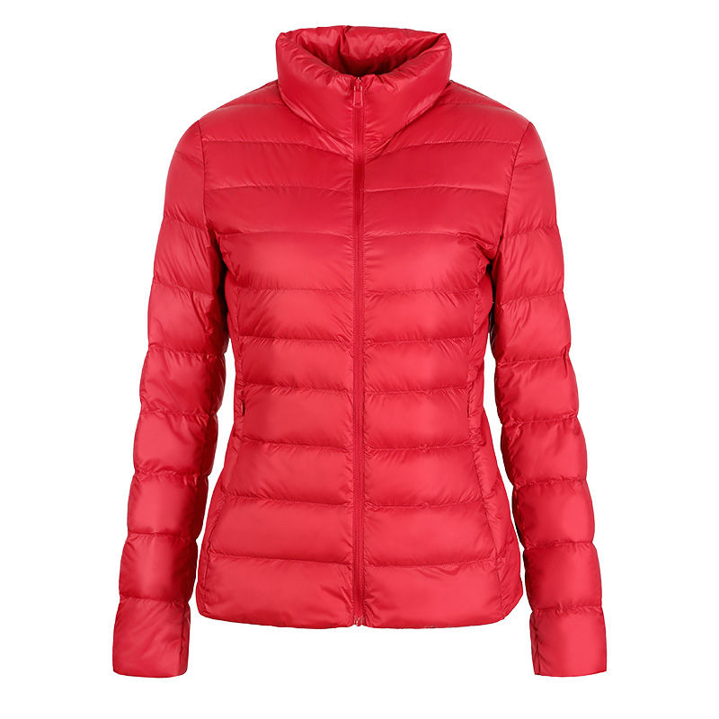 Image 3 - SINGRAIN 2019 Oversized Down Jacket Women Hooded 90% Duck Light Down Coat Winter Portable Female Warm Down Coat 5XL 6XL 7XL 8XL-in Down Coats from Women's Clothing