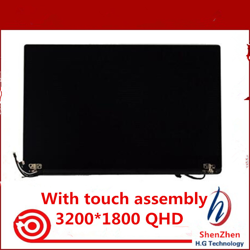 Genuine 13 3 Laptop LCD Screen Panel Digitizer Assembly for Dell XPS 13 9350 Touch Replacement