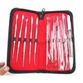 1 Unidades Equipo De Laboratorio Dental Cera Kit de Herramientas de Escultura Cuchillo Talla Las Herramientas Set Dentista Quirúrgica Instrumentos
