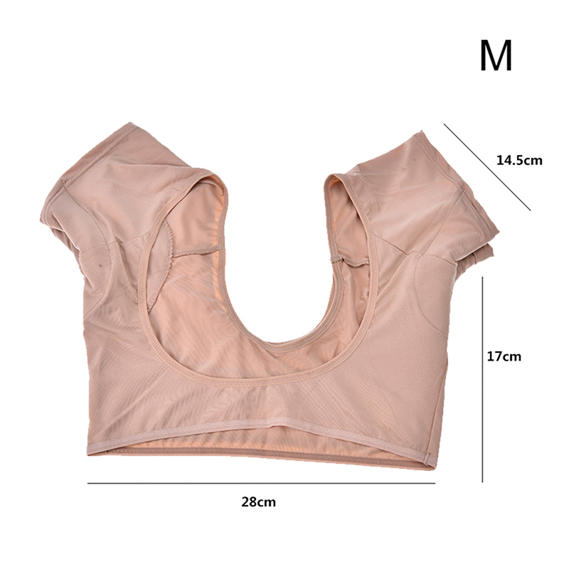 2019 New 1pc Washable Underarm Sweat Guard Pads M L Absorb Sweat Top Casual Vest Tanks Perfume Absorbing Deodorant