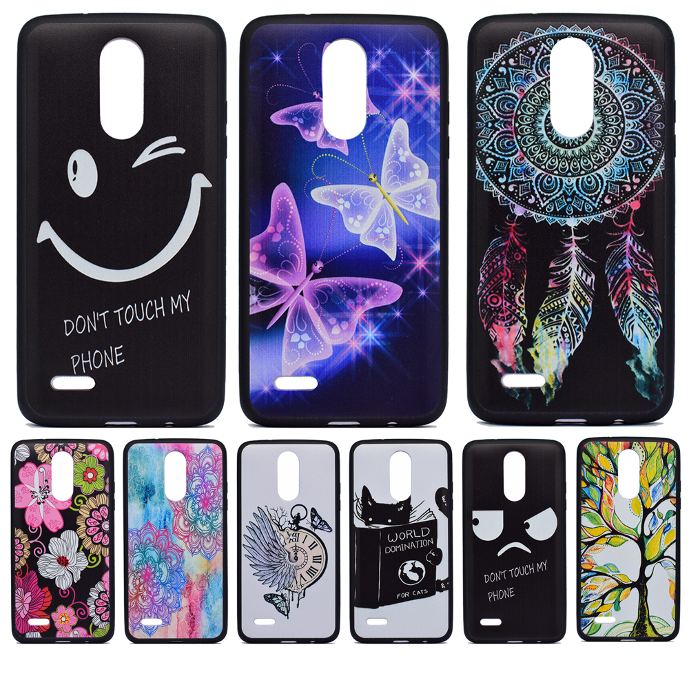 All kinds of cheap motor lg k4 2017 case tpu in All B