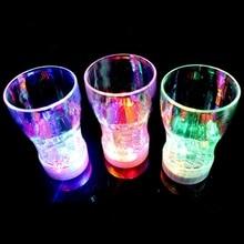 Креативные красочные светодиодный пивная кружка с сигнальным светом, выпить стакан бар КТВ ночной клуб Decative лампа
