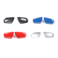 цена на   Car Exterior Side Rearview mirror decoration cover trim For Ford Mustang 2015+