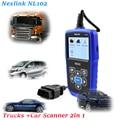 best heavy duty truck automotive diagnostic scanner NexLink NL102 diesel engine diagnostic tools outil diagnostic auto for SCANI