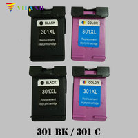 Vilaxh 301 xl Compatible Ink Cartridge Replacement for HP 301xl For Deskjet 1050 2050 3050 Envy 4500 4502 4504 5530 5532 Printer