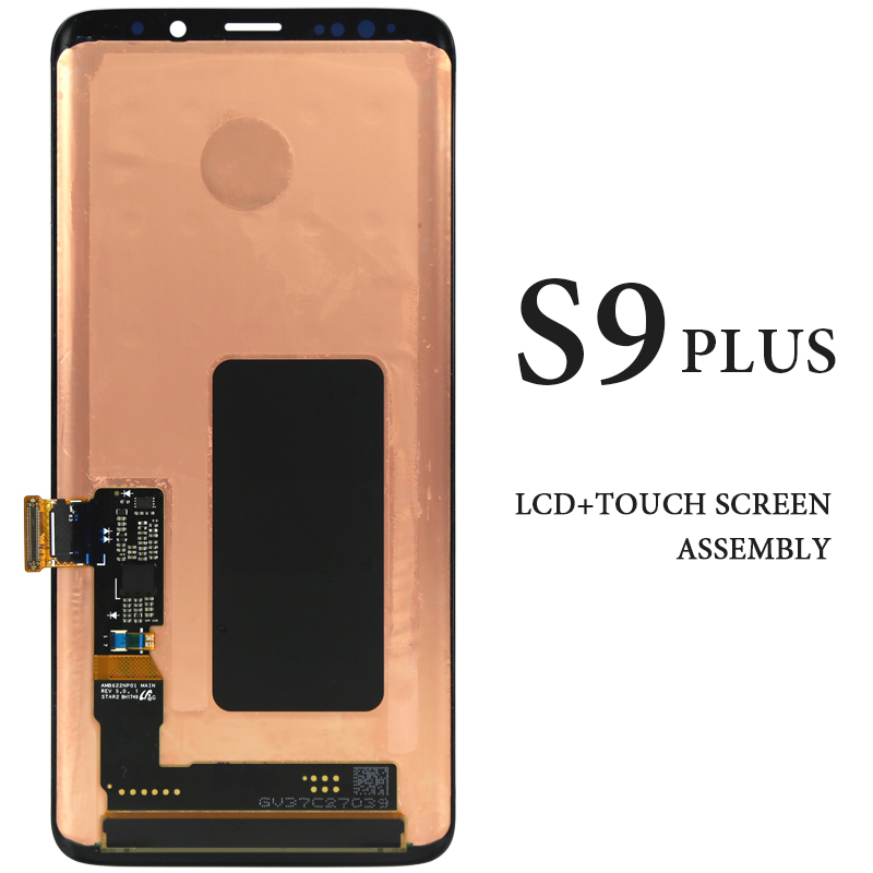 Pour Samsung Galaxy S9 Plus écran LCD 6.2 ''AMOLED G965 G965F noir écran tactile panneau assemblage téléphone pièces de rechange