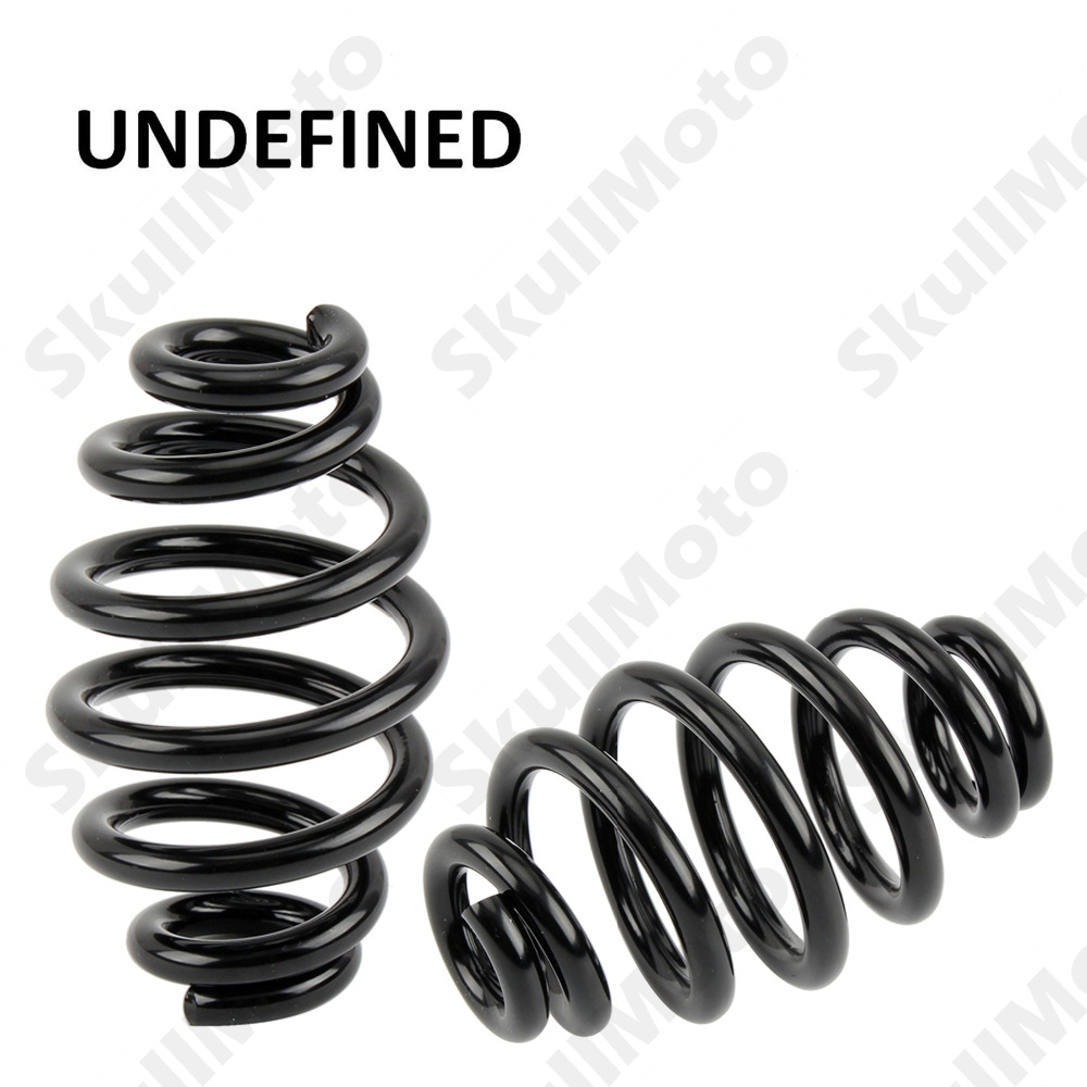 "Black Motorcycle Parts Steel 3"" Solo Barrel Seat Spring Hardware Kit For Harley Sportster Bobber Chopper UNDEFINED