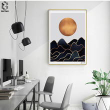 Waves Art Posters And Prints Wall Canvas Painting Pictures For Living Room Nordic Decoration