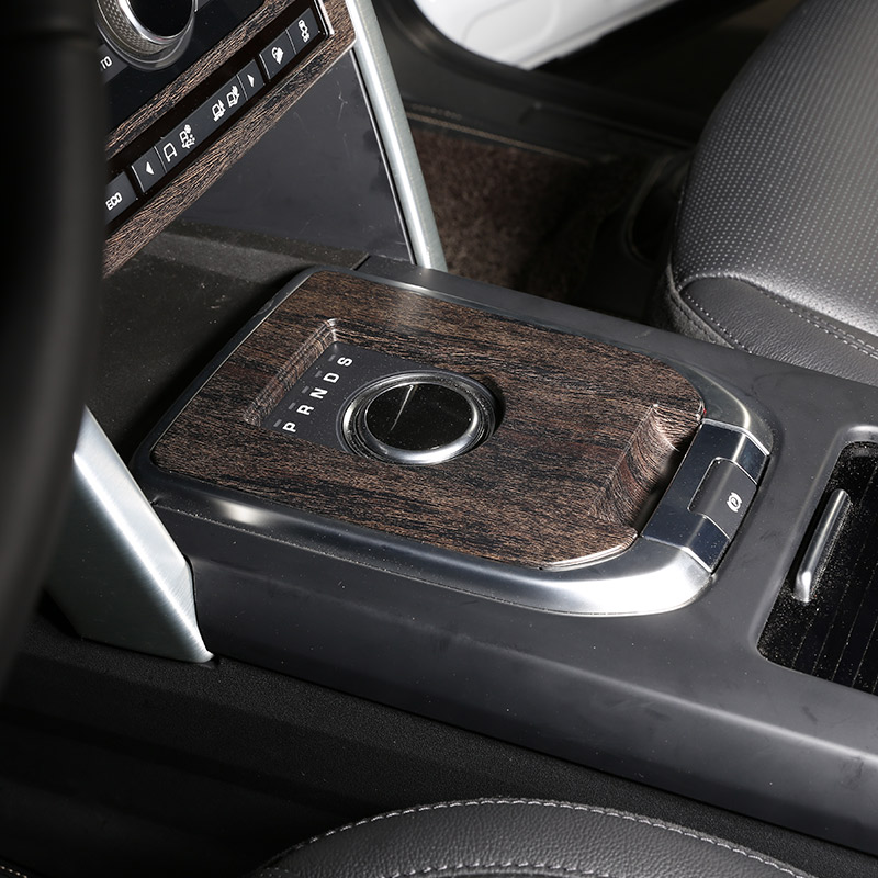 Oak Wood Colour For Discovery Sport 2015-2018 Car Gear Shift Cover Trim