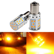Turn Signal Light Canbus Lamp Bulbs 1156-3030 LED Bulb 35-SMD Auto Lights 2019 Car Accessories