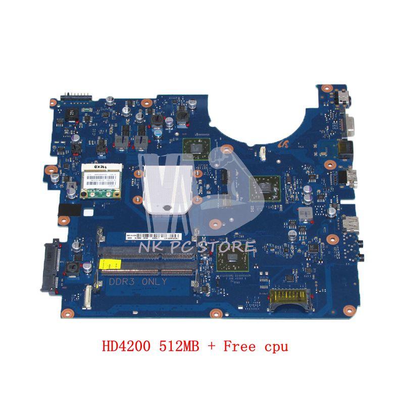 NOKOTION Pour Samsung R525 NP-R525 Ordinateur Portable Carte Mère HD4200 512 mb DDR3 cpu Gratuit BA92-06827A BA92-06827B BA41-01359A