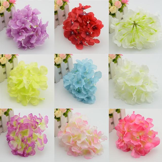15 Cm Flores Artificiales Hortensias De Flores Arcos Flor Principal