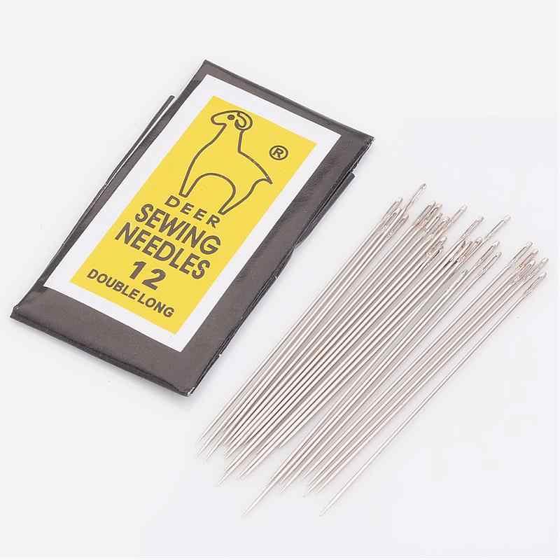 Iron Beading Needles Silver Beading 0.45 x 52mm Pack of 20