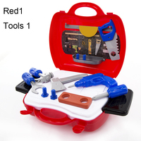 toy tools kids toy chainsaw kids gardening tools construction tools set for kids toys for children chainsaw suitcase Plastic