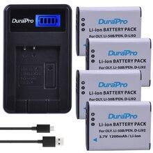 4 шт. 1200 мАч Li-50B D-LI92 Li 50B D LI92 литий-ионный Камера Батарея + ЖК-дисплей USB Зарядное устройство для Olympus SP 810 800UZ u6010 u6020 u9010 SZ14