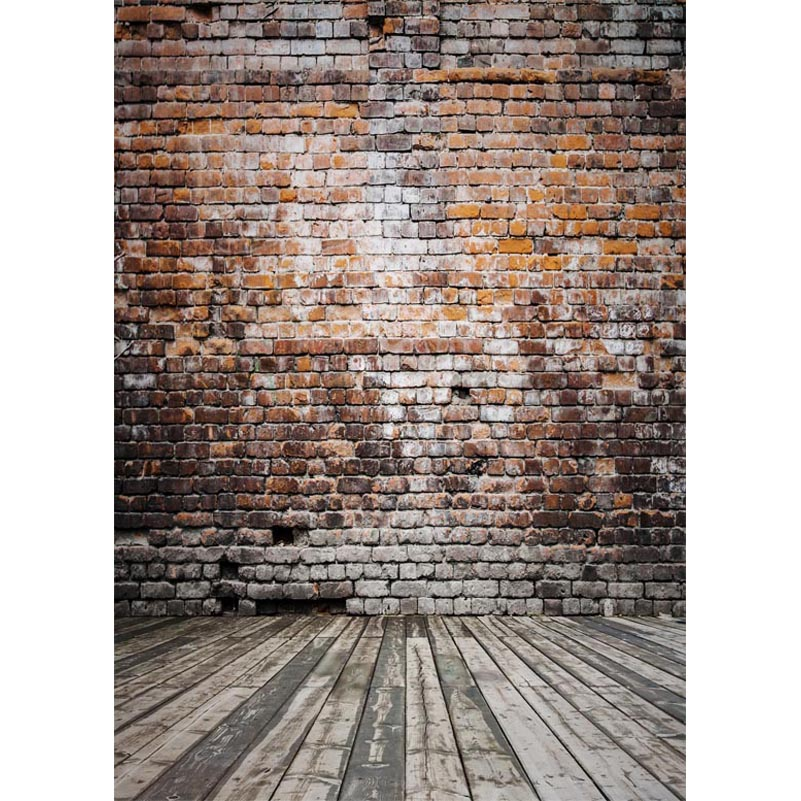 150x220cm Thin vinyl cloth photography backdrops computer Printing photo backdrops brick wall backgrounds for photo studio S1088 wooden floor and brick wall photography backdrops computer printing thin vinyl background for photo studio s 1120