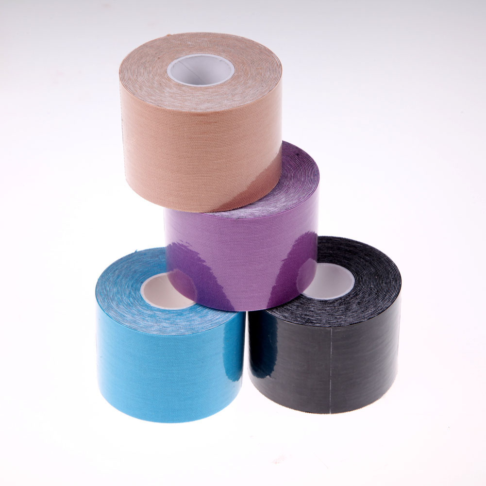 1 Roll 5mx5cm Sports Tape Muscles Care Cotton Adhesive Muscle Bandage Therapeutic Tapes Sports Safety Protection Band ...