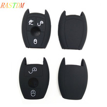 1pcs 2/3 Button Silicone Remote Key Case For Mercedes Benz A180 A200 A260 W203 W210 W211 AMG W204 C E S CLS CLK CLA SLK Classe luxury diamond 2 or 3 buttons car key case cover for mercedes benz w214 w211 w203 w210 w124 a180 a200 a260 a amg class