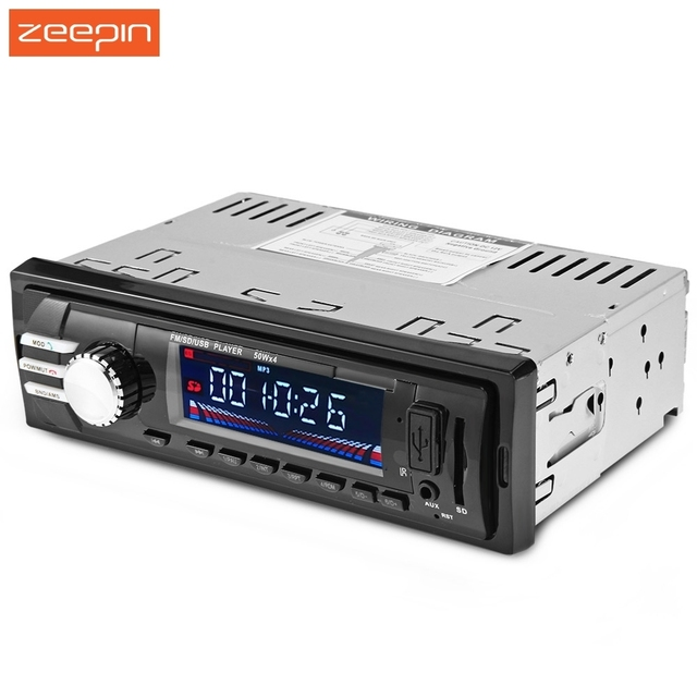 12V Bluetooth V2.0 Car Audio Stereo FM USB SD Mp3 Player AUX Mic Hands-free with Remote Control