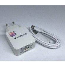 Blackview BV8000 Pro USB адаптер питания зарядное устройство ЕС вилка путешествия импульсный источник питания+ Usb кабель Type-C линия передачи данных