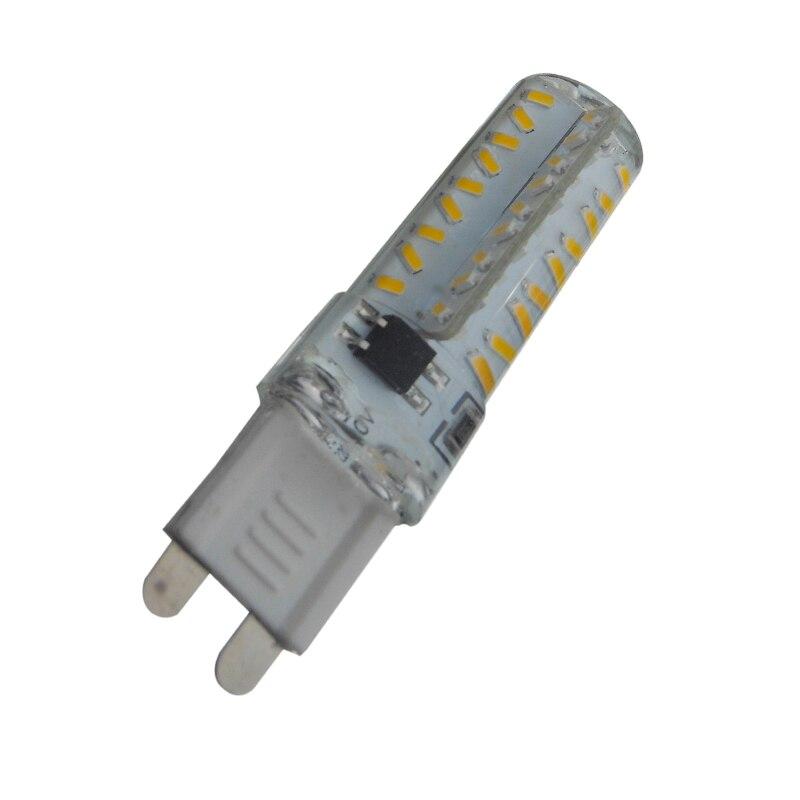 Économie dénergie! G9 SMD3014 lampe 70 LED s 72 LED s 80 LED s AC220V 7 W Bombillas Dimmable LED ampoule Lampada variateur lumière de maïs 10 pc/lot