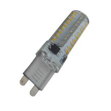 Energy saving! G9 SMD3014 Lamp 70leds 72leds 80leds AC220V 7W Bombillas Dimmable LED Bulb Lampada dimmer corn light 10pc/lot