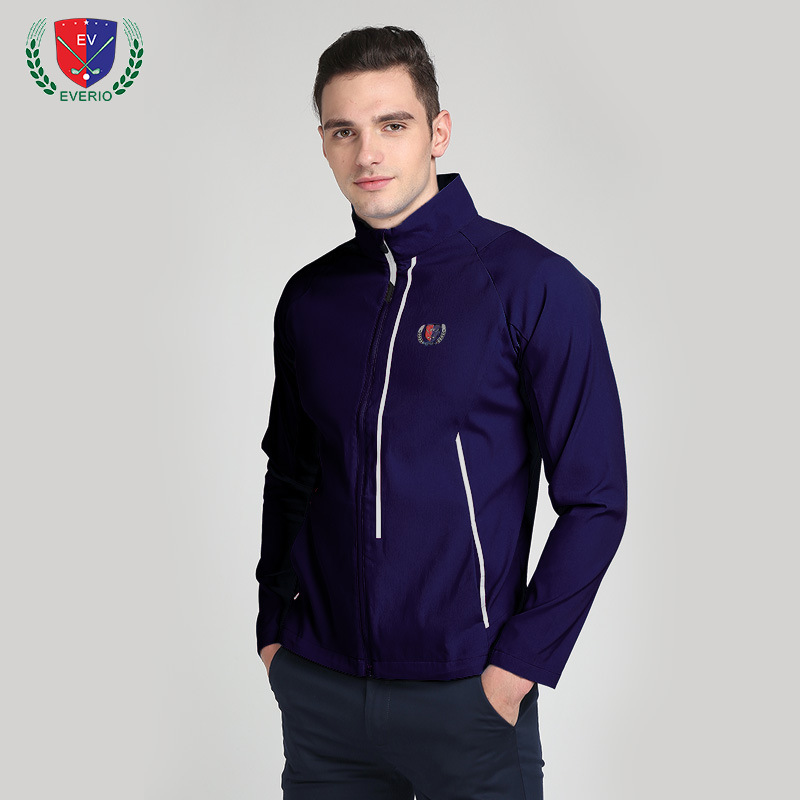 EVERIO Golf Clothing apparel men 's golf Long Sleeved  jacket golf windbreaker ball clothing autumn winter models Dry breathable цена