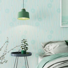 3D Simple Striped Non-woven Wallpaper Dandelion Living Room Bedroom Warm TV Background Wall Paper Roll beibehang new children room wallpaper cartoon non woven striped wallpaper basketball football boy bedroom background wall paper