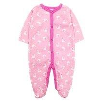 Lucky Child/Одежда для новорожденных; одежда для маленьких мальчиков и девочек 3, 6, 9, 12 месяцев; пижама с длинными рукавами