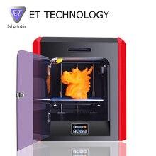 2017 Последним Высокое Качество Шэньчжэнь Yite Точная Экструдер 3D Принтер с Обновленной Версии Материнская Плата Бесплатно ABS PLA Нити