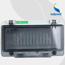 2015 Newest Home Electrical Waterproof Instrument box With 163*95*43 with Perspective window