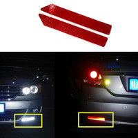 Car Rear Bumper Anti Collision Rear End Cars Warning Protector Colorful Reflective Safety Warning Conspicuity Tape