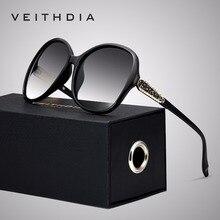 VEITHDIA ブランドデザイナーヴィンテージ女性サングラス偏高級女性サングラス gafas oculos デゾル feminino VT3025