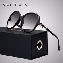 Veithdia marca designer vintage feminino óculos de sol polarizados retro feminino luxo óculos de sol gafas óculos de sol feminino vt3025