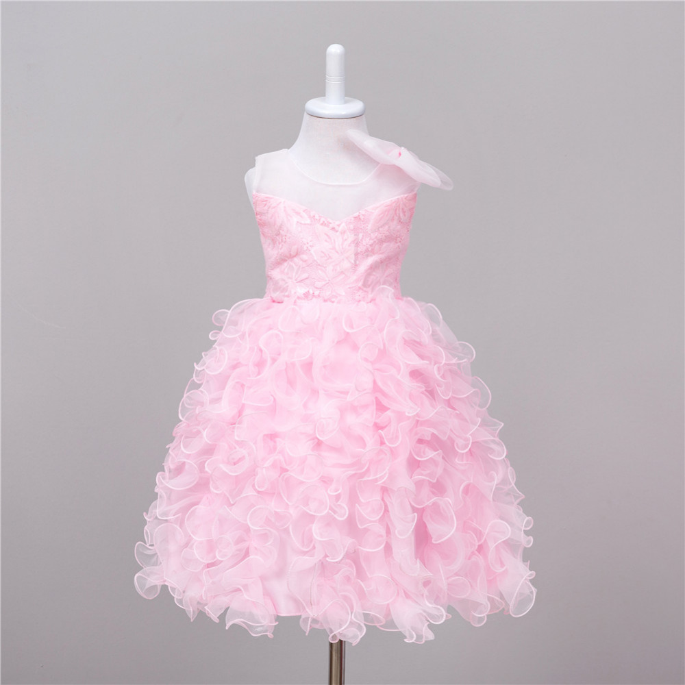 2017 New Years Flower Girls Dress For Wedding And Party