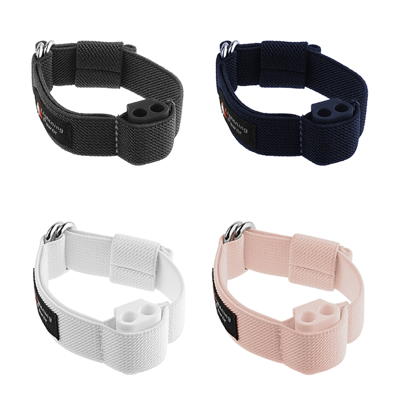 Sports Arm Wristband Anti-lost Silicone Storage Buckle For AirPods Headphones