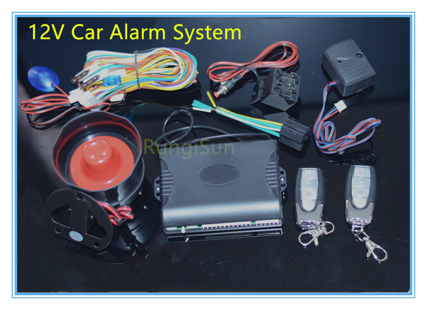 Alarm Anti-theft system Security system for 12V Car and truck цена