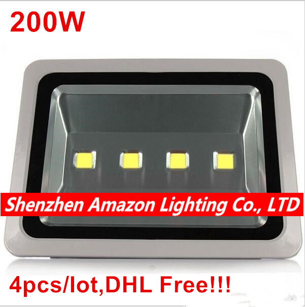 4pcs led flood light 200w led spotlight ip65 waterproof led 4pcs led flood light 200w led spotlight ip65 waterproof led outdoor light reflector spot floodlight outdoor aloadofball Choice Image