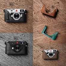 Mr.Stone Handmade Real Leather-based Digicam case Bag Classic Half case Backside cowl For Leica M10