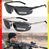 = = Nomanov marca de luxo as forças especiais da marinha modelo de motorista reforçada polarizada tac polaroid uv400 polarizada óculos de sol dos homens