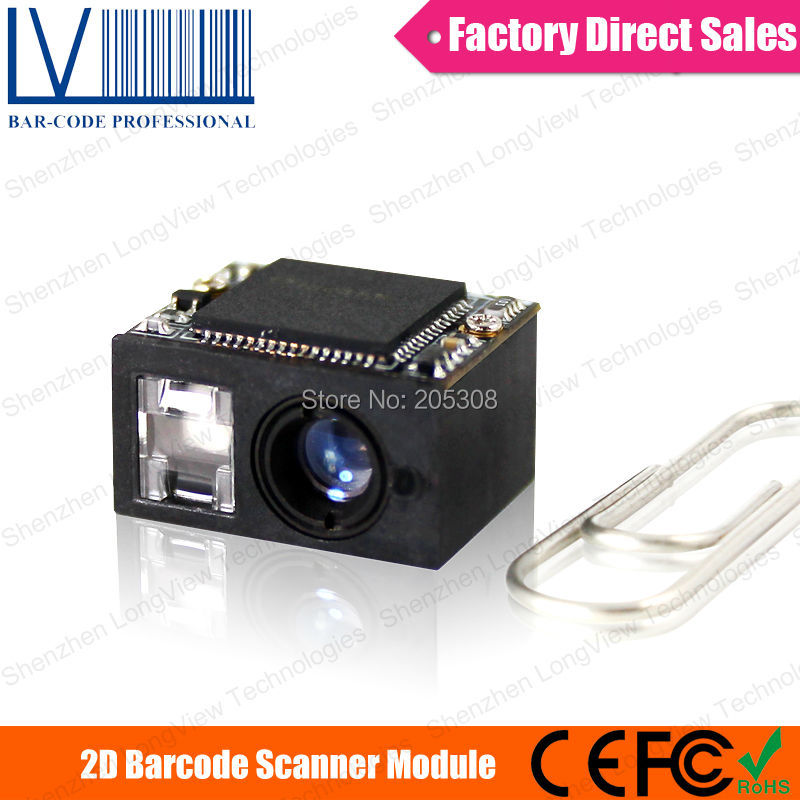 LV3080 Cheap Smallest QR Barcode Scanner For Android Tablet PC