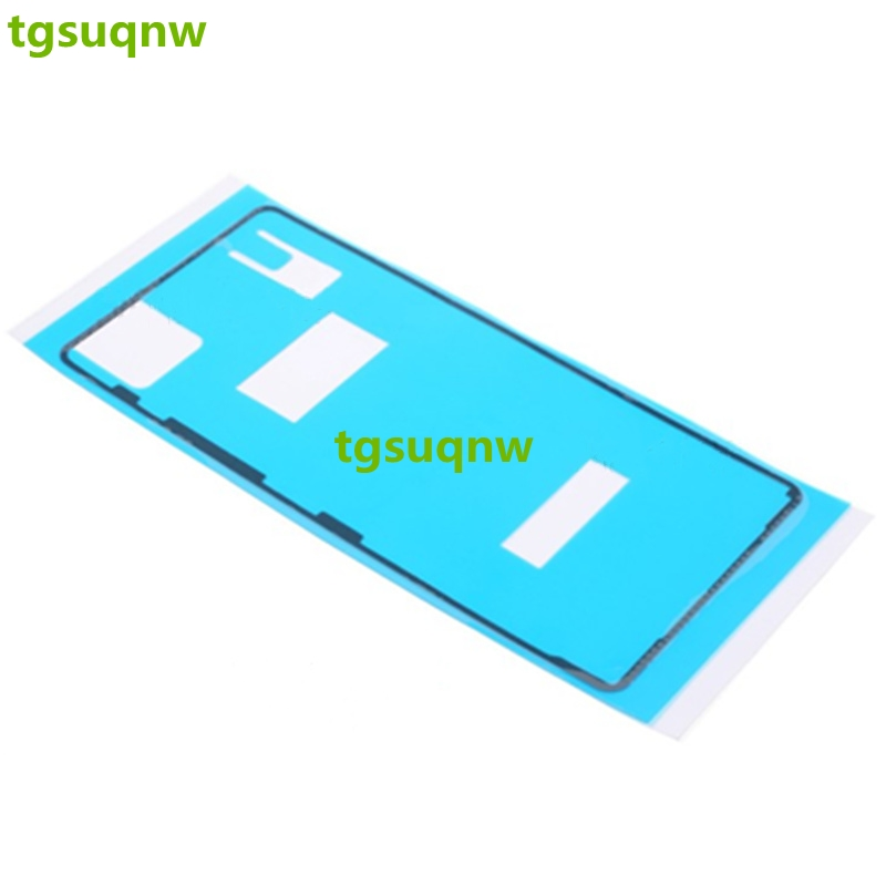 Front+Back Adhesive Glue Tape Waterproof Sticker For Sony Xperia X F5121 F5122 LCD Housing Frame Back Battery Cover