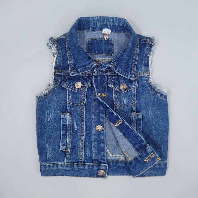0b67dd693 Chumhey 1 7T Baby Jeans Vests Spring Autumn Boys Girls Babe Jeans ...