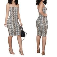 Women's Sling dress open shoulder bag hip women autumn dress winter new style open shoulder printed dress