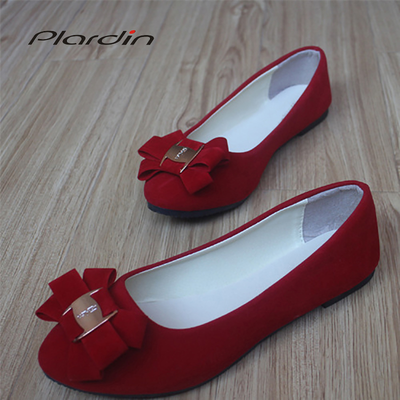 Plardin 2019 Fashion Flock Womens Flats For New Summer Slip-On Round Toe Casual Flat Shoes Basic ballet Shoes Woman Size PlusPlardin 2019 Fashion Flock Womens Flats For New Summer Slip-On Round Toe Casual Flat Shoes Basic ballet Shoes Woman Size Plus